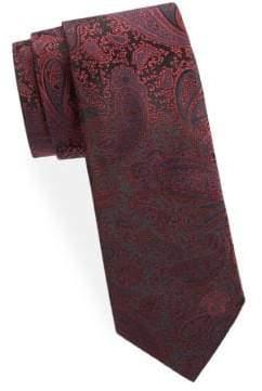 Versace Silk Paisley Tie