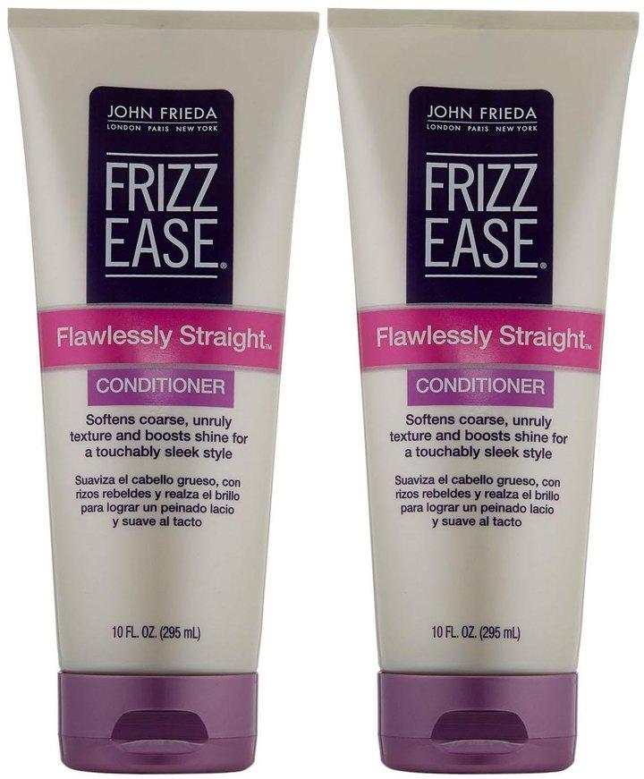 John Frieda Frizz-Ease Flawlessly Straight Conditioner - 10 oz - 2 pk