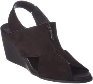 Arche Egwal Nubuck Wedge Sandal