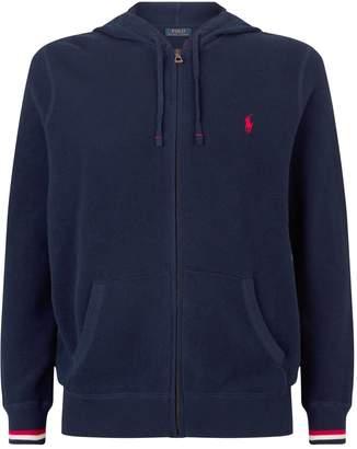Polo Ralph Lauren Logo Zip-Up Sweater