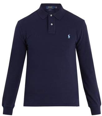 Polo Ralph Lauren Slim Fit Cotton Polo Shirt - Mens - Navy