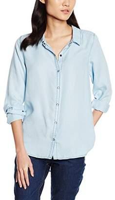 Garcia Women's Regular Fit Blouse - Blue - 8
