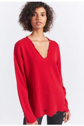Current/Elliott The Destroyed Cashmere Sweater