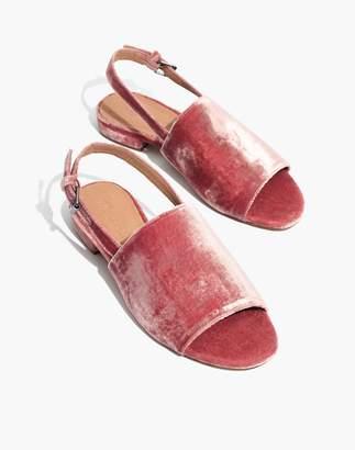 Madewell The Noelle Slingback Sandal in Velvet