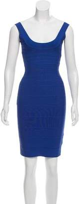 Herve Leger Mini Bandage Dress