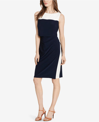 American Living Two-Toned Popover Dress $69 thestylecure.com