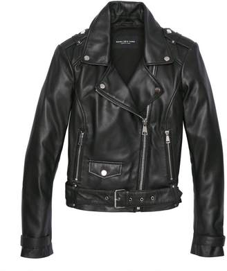 Andrew Marc ARVERNE LEATHER MOTO JACKET