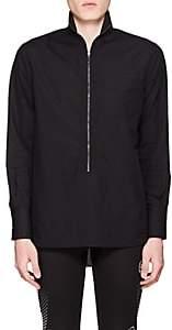 Givenchy Men's Cotton Poplin Tunic Shirt - Black