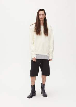 Maison Margiela Destroyed Crewneck Knit