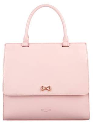 Ted Baker Leather Flap Satchel
