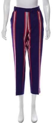 Stella Jean High-Rise Stripe Pants
