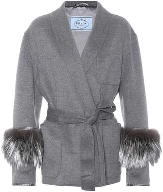 Prada Wool and angora coat