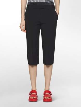 Calvin Klein platinum stretch skinny capri pants