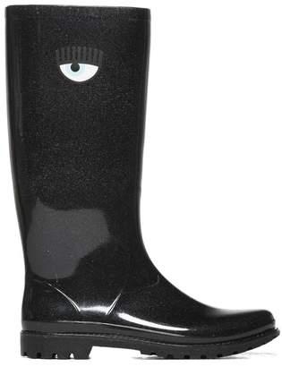 Chiara Ferragni Glitter Rain Boots