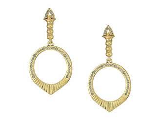 House Of Harlow Luna Stone Earrings