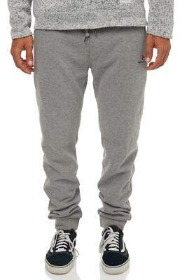 Rip Curl New Men's Icon Mens Track Pant Cotton Polyester Grey