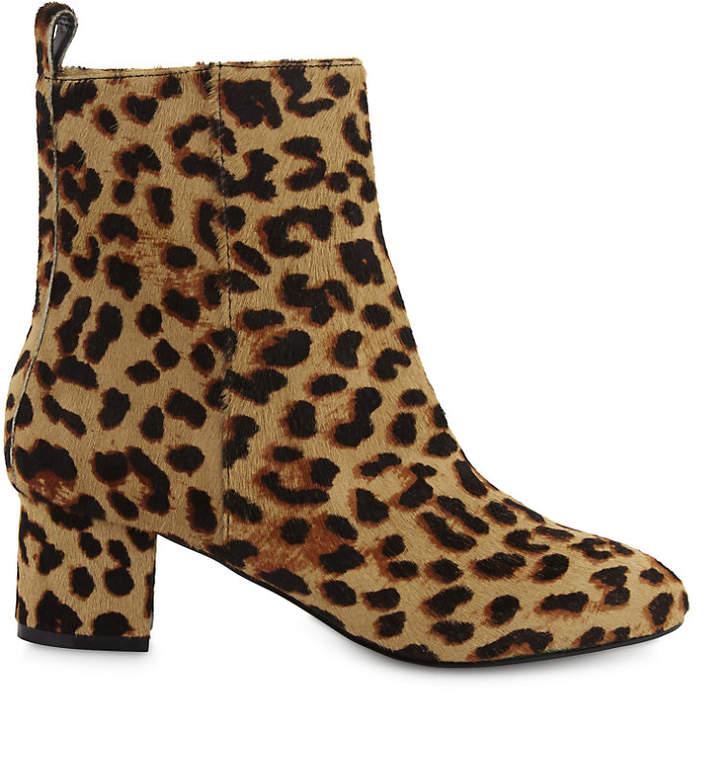 Aldo Parroni haircalf heeled ankle boots