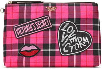 Victoria's Secret Victorias Secret PINK Plaid Pouch