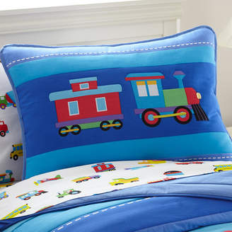 Olive Kids Wildkin Trains, Planes and Trucks Pillow Case