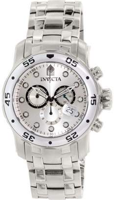 Invicta Men's Pro Diver 0071 Silver Stainless-Steel Swiss Quartz Fashion Watch