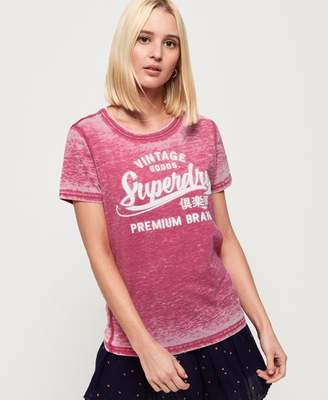 Superdry Vintage Goods Burnout T-shirt