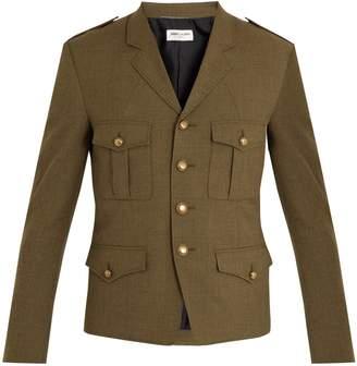 Saint Laurent Notch-lapel wool jacket