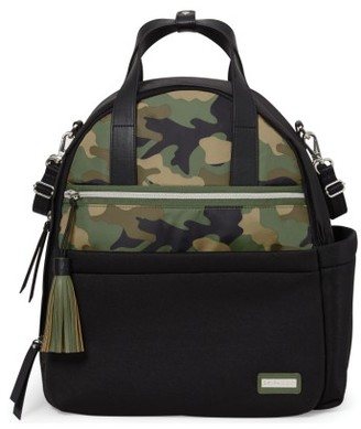Infant Skip Hop Nolita Neoprene Diaper Backpack - Green $80 thestylecure.com