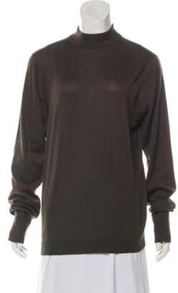 John Smedley Lightweight Long Sleeve Sweater Brown Lightweight Long Sleeve Sweater