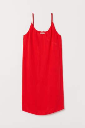 H&M H&M+ V-neck Dress - Red