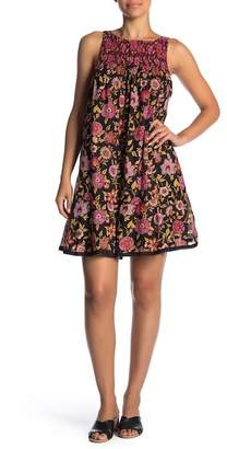 Free People Oh Baby Floral Minidress