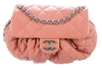 Chanel Medium Chain Around Messenger Bag Coral Medium Chain Around Messenger Bag
