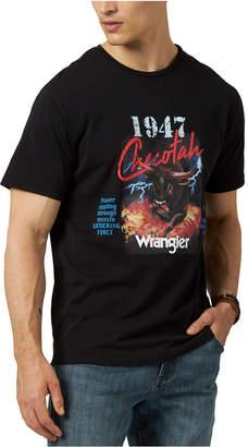 Wrangler Men Checotah Logo Graphic T-Shirt