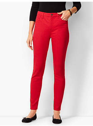 Talbots Denim Jeggings - Classic Red