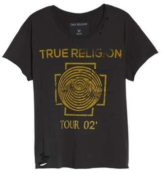 True Religion Brand Jeans Dizzy Tour Tee