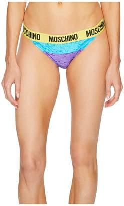 Moschino Chenille Bikini Briefs