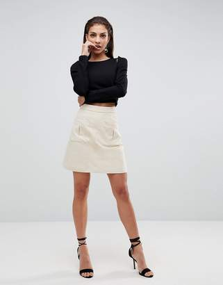 Finders Keepers One Step Utility Skirt