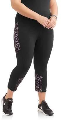 Elite Brands Women's Plus Laser Cut Pants