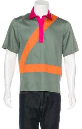Louis Vuitton Colorblock Polo Shirt