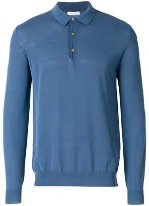Boglioli knitted polo shirt