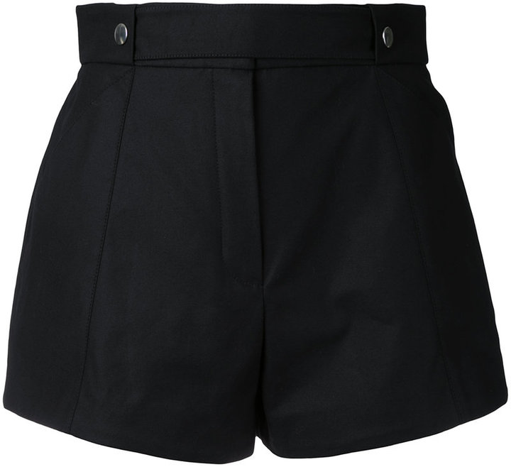 CourregesCourrèges press stud shorts