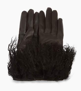 UGG Women's Leather Mongolian Glove