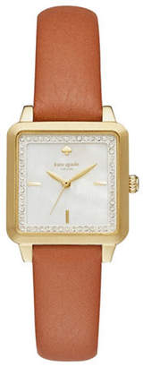 Kate Spade Washington Square Leather Watch