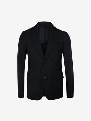 Alexander McQueen Polka Dot Double Lapel Jacket