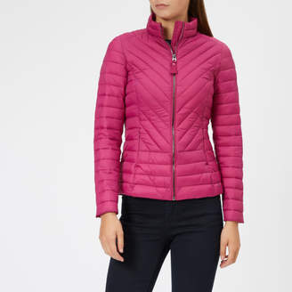 Joules Women's Elodie Chevron Quilted Jacket