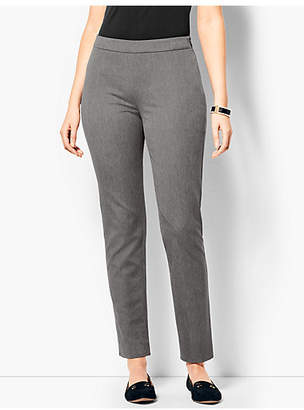 Talbots Chatham Ankle Pant - Curvy Fit/Charcoal Grey