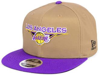 New Era Los Angeles Lakers Jack Knife 9FIFTY Snapback Cap