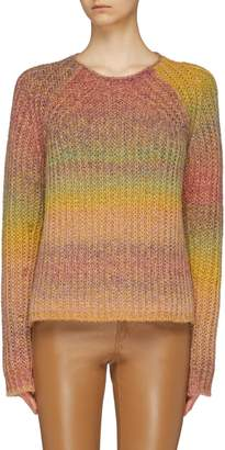 Acne Studios 'Kyla' ombre stripe raglan sweater