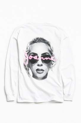 Urban Outfitters Lady Gaga Joanne Long Sleeve Tee $39 thestylecure.com