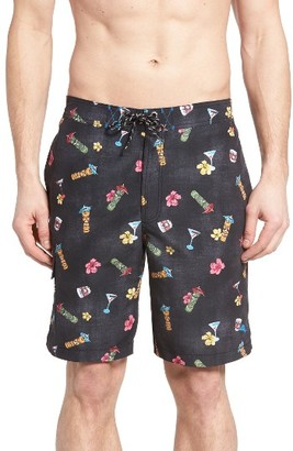 Men's Tommy Bahama Baja Tiki Tiki Tini Swim Trunks $88 thestylecure.com