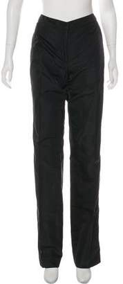 Donna Karan Silk Wide-Leg Pants